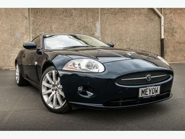 2007 Jaguar XK with Custom QuickSilver SuperSport Exhaust