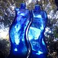 BLUE Caligari bottles - all faults
