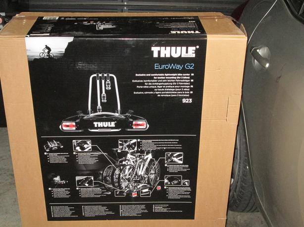 Thule Euroway G2 923 cycle carrier