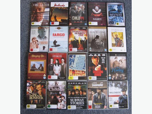 DVD BUNDLE #1: 20 DVDs @ $2.50 each