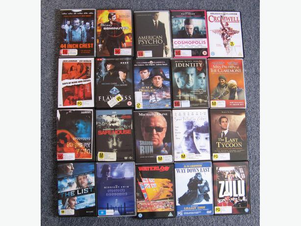 DVD BUNDLE #2: 20 DVDs @ $2.50 each