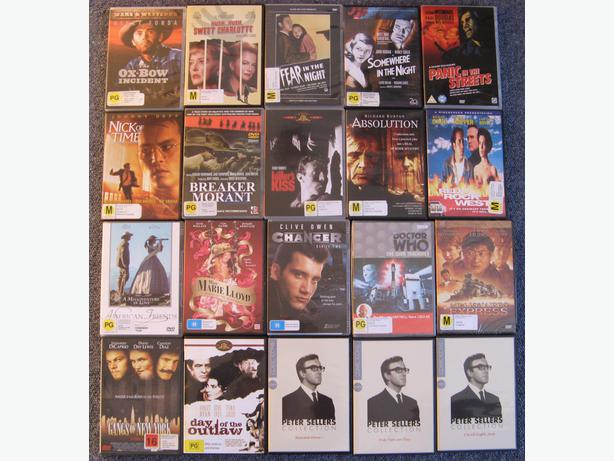 DVD BUNDLE #3: 20 DVDs @ $2.50 each