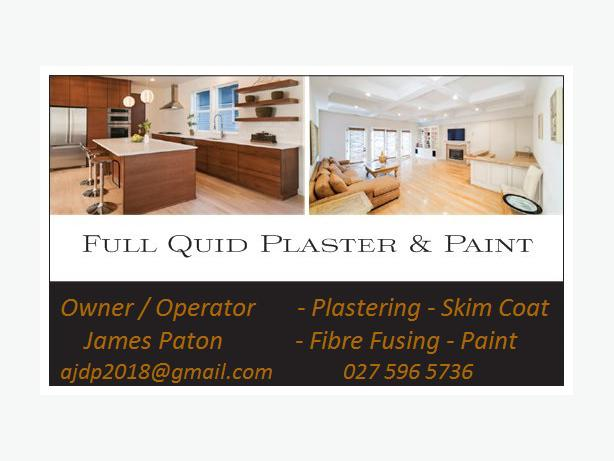 Interiour Plaster And Paint