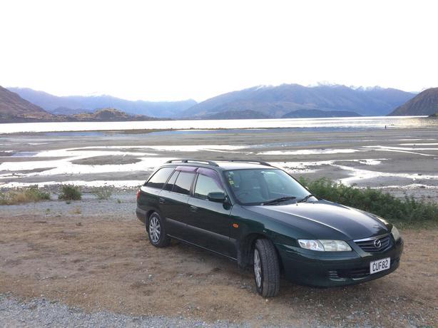 for sale: reliable mazda capella station wagon for 1800