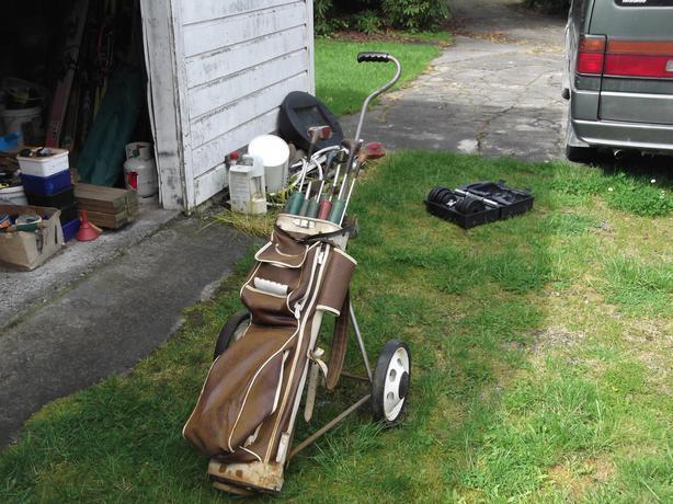 Golf trundler