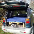 Mitsubishi Chariot with mattress
