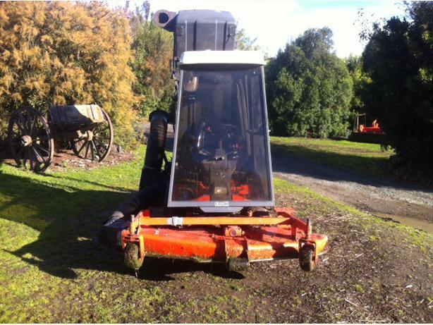 4WD Kubota mower