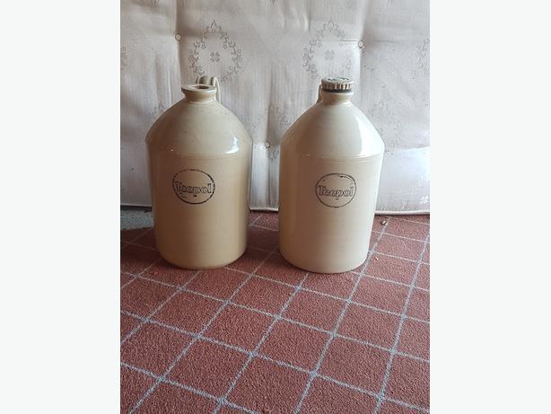 Teepol Stone Jars