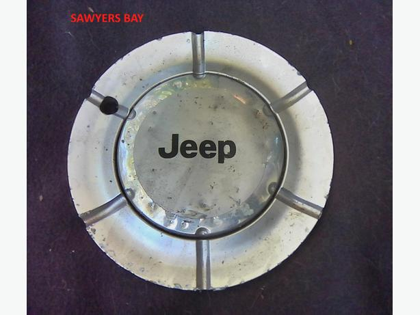 "'JEEP"" hubcap FOUND -  Sawyers Bay"