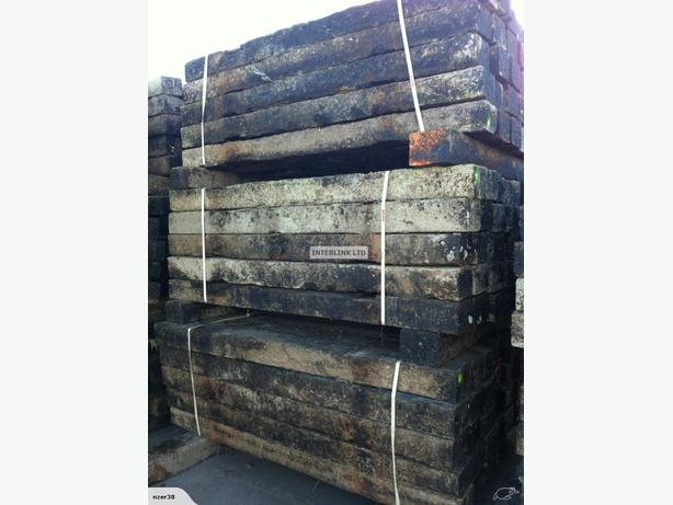25 x NZ Railway Sleepers