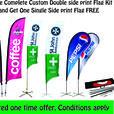 Custom Printed & Stock Flags