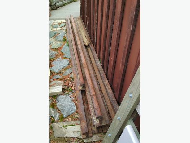Railway track iron steel 40 metres