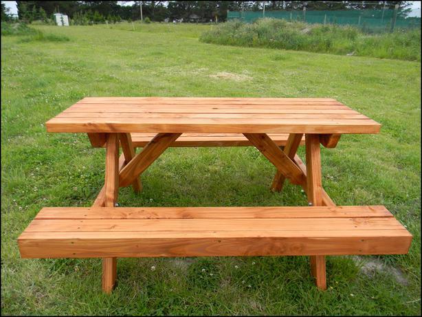 Oregon BBQ Table Oiled(B15)
