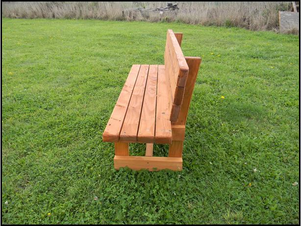 Oregon Bench Seat (oiled)