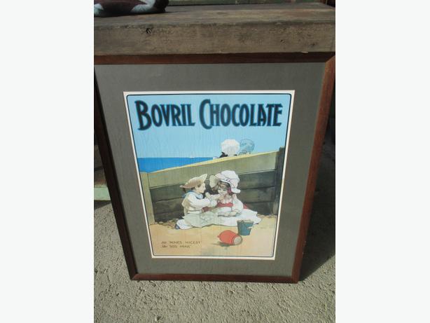 Framed Print, Bovril Chocolate
