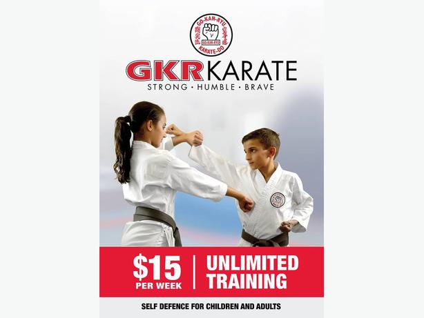 FREE: GKR Karate Trial Classes - West/North Auckland