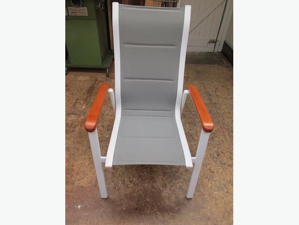 Fully padded outdoor chair