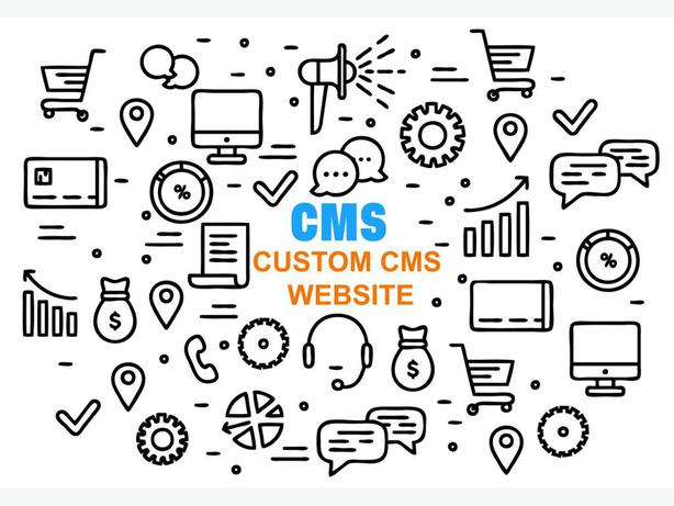 We Provide Custom CMS Website Design and Development Solutions