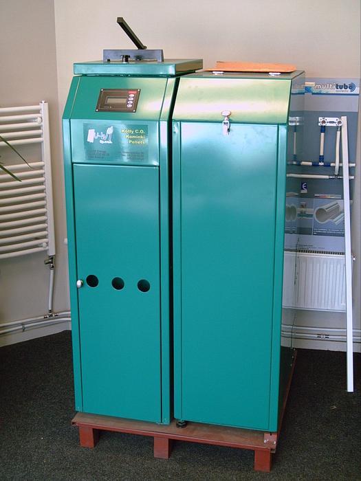 Wood Pellet central heating boiler Dunedin, www - MOBILE
