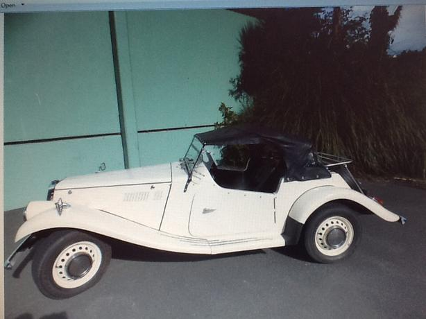 MG TF Convertable Replica