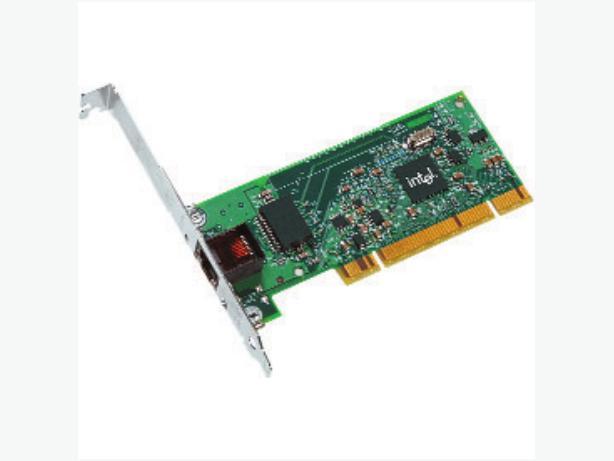 Intel PRO/1000 GT Network Desktop Adapter, Full Height With 1 x RJ45: PWLA8391GT