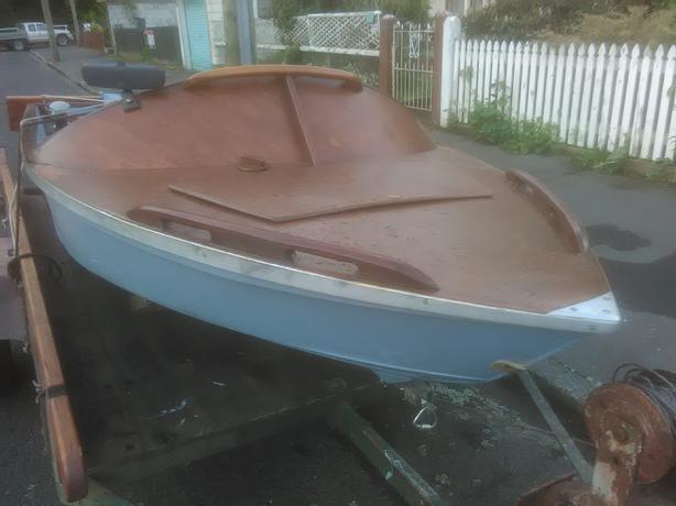 Ply Wood Mini Jet Boat