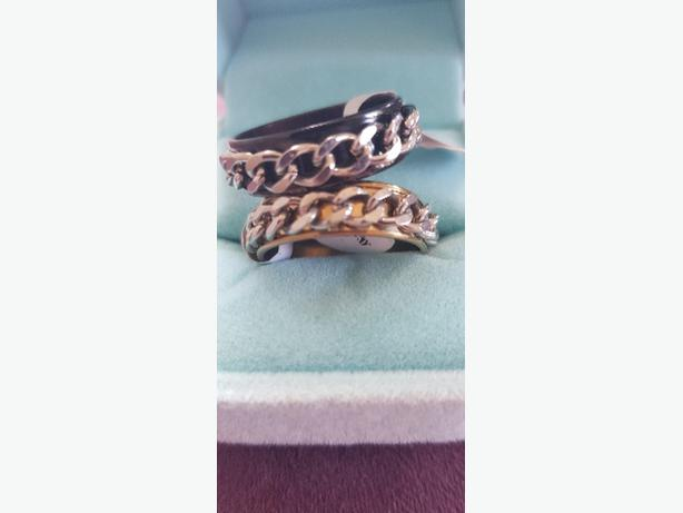 mens chain rings size 11 (clearance)