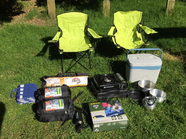 buy popular 578e6 297fc Full Camping Set, Perfect for Backpackers and Car Camping ...