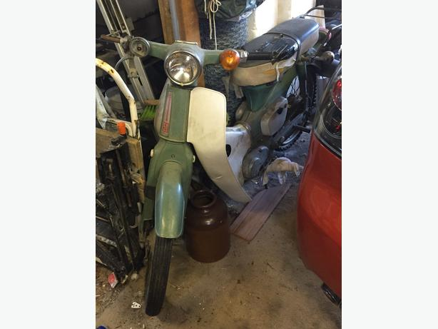 Honda 50 stepthrough