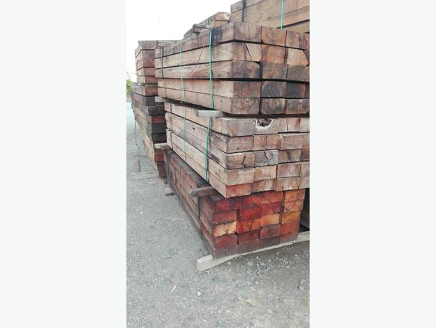 [2.75m] NEW Aussie A-grade Hardwood Sleepers x 20