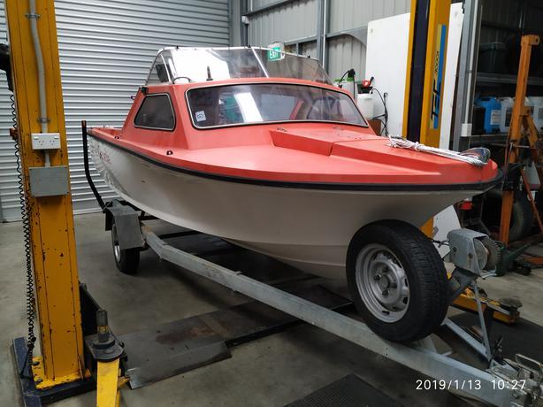 Figlass Scamp Boat
