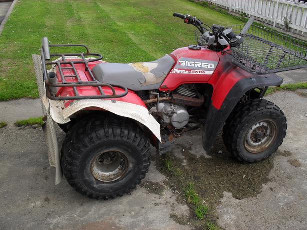 Big Red 250cc 4 Wheeler