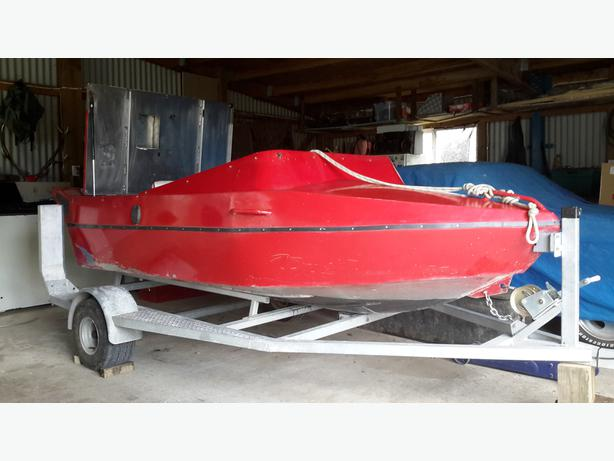 Alloy Jet Boat