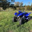 2008 Yamaha Raptor 80cc
