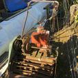 Large reel mower